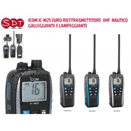 ICOM IC-M25 EURO RICETRASMETTITORE VHF NAUTICO GALLEGGIANTE E LAMPEGGIANTE