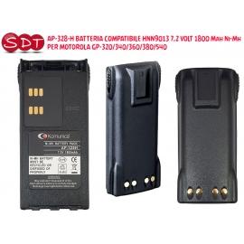 BGP-328NLI BATTERIA COMPATIBILE HNN9013 7,4 VOLT 1800 Mah Li-Ion PER MOTOROLA GP-340/360/380/540