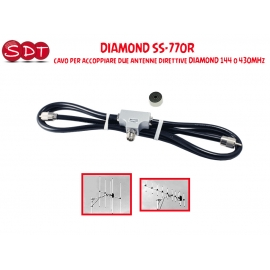 DIAMOND SS-770R ACCOPPIATORE PER 2 ANTENNE DIRETTIVE DIAMOND 144 O 430 MHZ