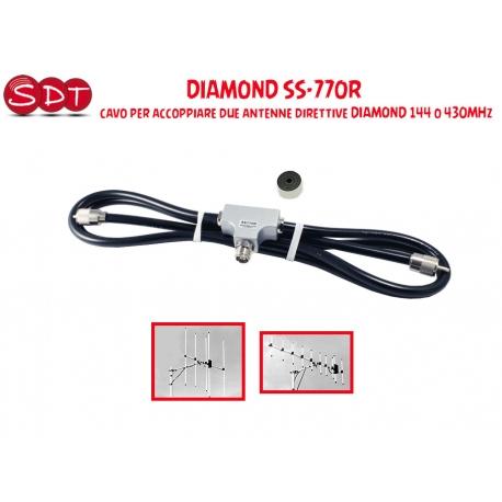 DIAMOND SS-770R ACCOPPIATORE PER 2 ANTENNE DIRETTIVE DIAMOND 144 O 430 MHZ