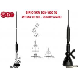 SIRIO SKA 108-500 SL ANTENNA VHF 108 ... 500 MHz TARABILE