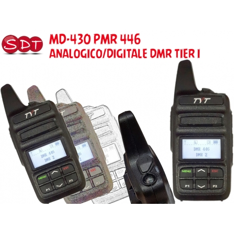 MD-430 PMR 446 UHF ANALOGICO/DIGITALE DMR TIER I