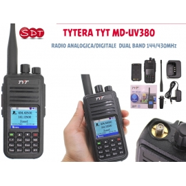 TYTERA TYT MD-UV380 RADIO ANALOGICA/DIGITALE DUAL BAND 144/430MHz