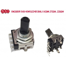 ENCODER EVQ-VENF0224B DIAL X ICOM 2720H 2200H