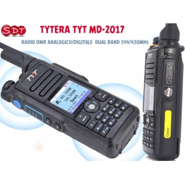 TYTERA TYT MD-2017 RADIO DMR ANALOGICO/DIGITALE DUAL BAND 144/430MHz