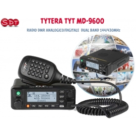 HQT DMR DH-8100U 16 CH RICETRASMETTITORE PROFESSIONALE UHF 400 ~ 470 MHz DIGITALE/ANALOGICO