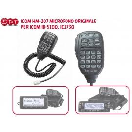 HM-133 MICROFONO RJ-45 PER ICOM IC-2800-2725-2720-2820