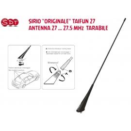 """SIRIO """"ORIGINALE"""" BOOMERANG 27A ANTENNA 27 MHZ 27-28.5 MHz DA BASE O BALCONE"""