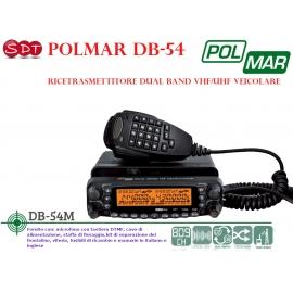 POLMAR DB-50M RICETRASMETTITORE DUAL BAND BIBANDA VEICOLARE VHF/UHF 136-174/400-470 MHZ