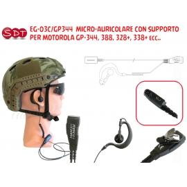 PJD-1303C-SL MICRO-AURICOLARE CON SUPPORTO PER MOTOROLA SERIE SL-1600/4000/4010