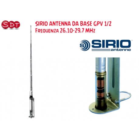 Sirio Antenne GAIN-MASTER, Antenna CB Fissa 5/8 λ Center Feed Vertical Dipole, Frequenza 25.5-30MHz,
