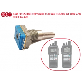 ICOM POTENZIOMETRO VOLUME R130 VAR TP76N00-15F-10KA-2791 X IC-A6_A24