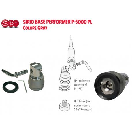 SIRIO SDB 270 CHROME ANTENNA DUAL BAND VHF/UHFMHz - RX/TX: 137-152 MHz, 415-455 MHz