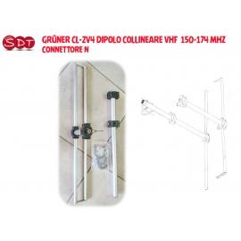 GRÜNER CL2U4 ANTENNA COLLINEARE UHF 430-470 MHZ