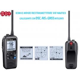 ICOM IC-M73 EURO PLUS RICETRASMETTITORE VHF NAUTICO 6 WATT RF, GALLEGGIANTE, MICROFONO A CANCELLAZIONE DI RUMORE, IPX8