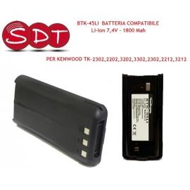 BTK-45LI BATTERIA COMPATIBILE Li-Ion 7,4V - 1800 Mah PER KENWOOD TK-2302,2202,3202,3302,2302,2212,3212