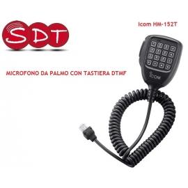 HM-152T MICROFONO DTMF ORIGINALE ICOM PER IC-2725E /E208/2200H/F1710/F1810 /F110/210/