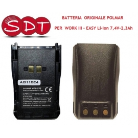 BATTERIA ORIGINALE POLMAR EASY, WORK III - Li-Ion 7,4V - 2,3Ah