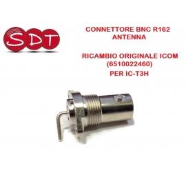 CONNETTORE BNC R162 ANTENNA RICAMBIO ORIGINALE ICOM (6510022460) PER IC-T3H, IC-A24