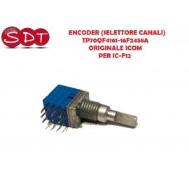 ENCODER (SELETTORE CANALI) TP70QF4161-16F2458A ORIGINALE ICOM PER IC-F12