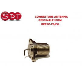 CONNETTORE ANTENNA ORIGINALE ICOM PER IC-F3/F12