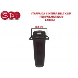 STAFFA DA CINTURA BELT CLIP PER POLMAR EASY E SIMILI