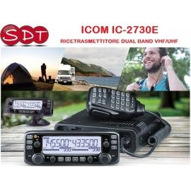 ICOM IC-2730E RICETRASMETTITORE DUAL BAND VHF/UHF 50 WATT RICEZIONE SIMULTANEAV / V, U / U