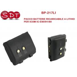 BP-217LI PACCO BATTERIE RICARICABILE AGLI IONI DI LITHIO PER ICOM IC-E90/91/80