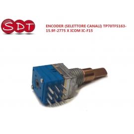 ENCODER (SELETTORE CANALI) TP70TF5163-15.9F-2775 X ICOM IC-F15