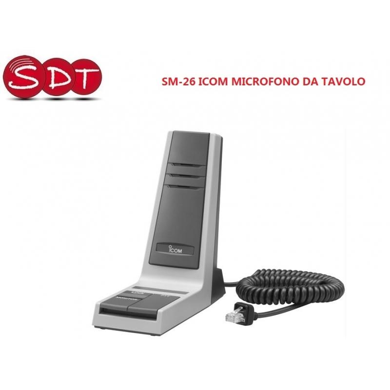 Sm 26 icom microfono da tavolo - Microfono da tavolo wireless ...