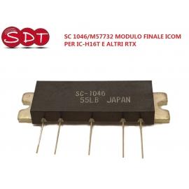 SC 1046/M57732 MODULO FINALE ICOM PER IC-H16T E ALTRI RTX