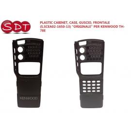 """PLASTIC CABINET, CASE, GUSCIO, FRONTALE (S.SCEA02-1650-13) """"ORIGINALE"""" PER KENWOOD TH-78E"""