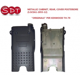 "METALLIC CABINET, REAR, COVER POSTERIORE ""ORIGINALE"" PER KENWOOD TH-78"
