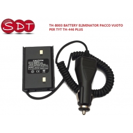 TH-B003 BATTERY ELIMINATOR PACCO VUOTO PER TYT TH-446 PLUS