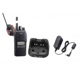 ICOM IC-F1000S RICETRASMETTITORE PORTATILE VERSIONE VHF O UHF PMR 128 CH CON TASTIERA SEMPLIFICATA