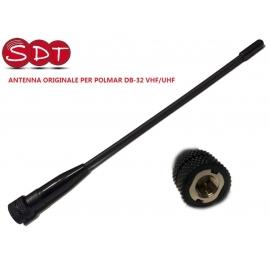 ANTENNA ORIGINALE PER POLMAR DB-32 VHF/UHF
