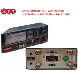 SX-601 ROSMETRO - WATTMETRO 1.8~160MHz - 140~525MHz DA 5~1 KW