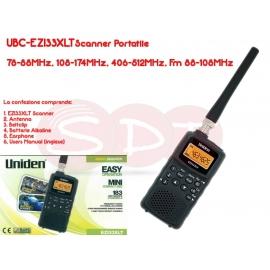 UBC-EZI33XLT RICEVITORE/SCANNER 78-88MHz, 108-174MHz, 406-512MHz, Fm 88-108MHz BANDA AEREA