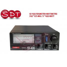 SX-400 ROSMETRO-WATTMETRO 140~525 MHz / 5~400 WATT