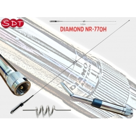 "DIAMOND ""ORIGINALE"" NR-770H ANTENNA VEICOLARE 144/430MHz 102 CM"