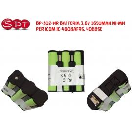 BP-202-HR BATTERIA 3,6V 1650MAH NI-MH PER ICOM IC-4008AFRS, 4088SE