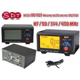 NISSEI ROSMETRO - WATTMETRO DIGITALE RS-50 (VHF e UHF) RS-70 (HF+ 6m)