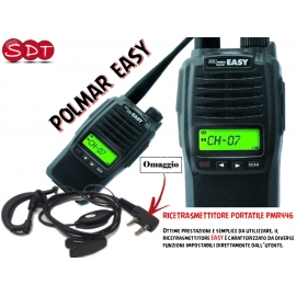 POLMAR EASY PMR446 UHF PORTATILE VERSIONE EXPORT 5 WATT