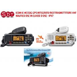 ICOM IC-M330G GPS INTEGRATO RICETRASMETTITORE VHF NAUTICO DSC IN CLASSE D DSC - IPX7