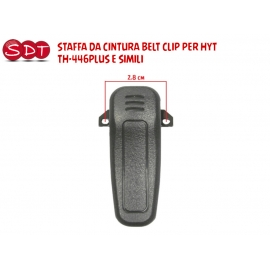 STAFFA DA CINTURA BELT CLIP PER HYT TH-446PLUS E SIMILI