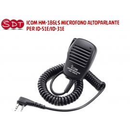 HM-186LS MICROFONO ALTOPARLANTE ORIGINALE ICOM DI TIPO COMPATTO PER ID-51/31