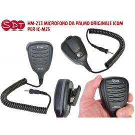 """ICOM HM-213 MICROFONO DA PALMO """"ORIGINALE"""" Waterproof PER IC M25, M35 e IC-M93 EURO"""