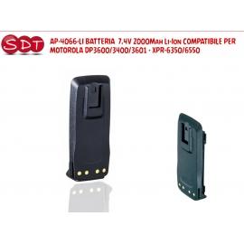 AP-4066-LI BATTERIA 7,4V 2000Mah Li-Ion COMPATIBILE PER MOTOROLA DP3600/3400/3601 - XPR-6350/6550