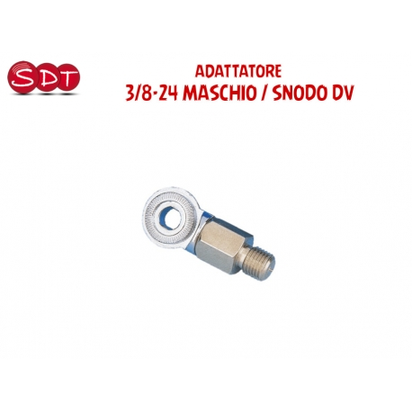 ADATTATORE - 3/8-24 MASCHIO / SNODO DV