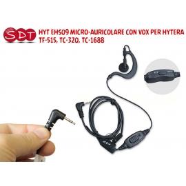 HYT EHS09 MICRO-AURICOLARE CON VOX PER HYTERA TF-515, TC-320, TC-1688